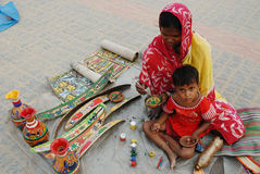 Indian folk Painting Stock Image