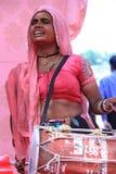 Indian Folk Singer Royalty Free Stock Image