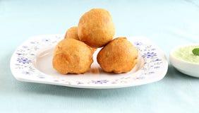 Indian Food Aloo Vada Royalty Free Stock Photos
