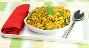 Indian Food Aval Upma Stock Photography