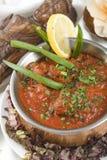 Indian food, chicken Koorgi Murgh. Royalty Free Stock Images