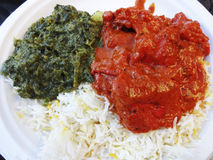 Indian Food Combination Royalty Free Stock Photos