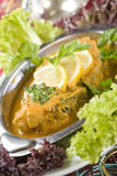 Indian food,  Fish Curry Royalty Free Stock Photo