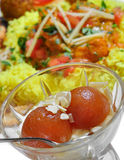 Indian Food - Gulab Jamun Stock Photography