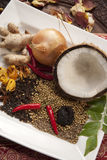 Indian Food Ingredients stock images
