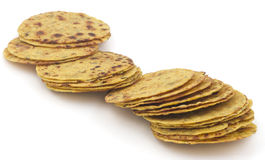 Indian Food Khakra Stock Images