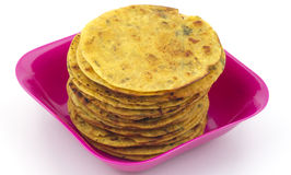 Indian Food Khakra Stock Image