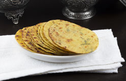 Indian Food Khakra Stock Photography