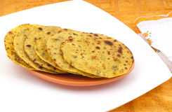 Indian Food Khakra Royalty Free Stock Photography
