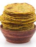 Indian Food Khakra Stock Photo