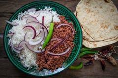 Indian food lamb Royalty Free Stock Photos