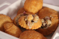 Indian Food Pani Puri Stock Images