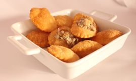 Indian Food Pani Puri Stock Photos