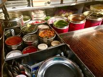 Indian Food-Pani Puri masala Royalty Free Stock Image