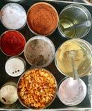 Indian Food-Pani Puri masala Royalty Free Stock Images