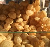 Indian Food-Pani Puri Royalty Free Stock Image