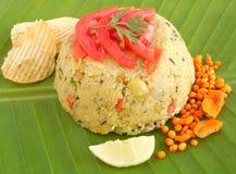 Indian Food Rava Upma Royalty Free Stock Photography