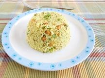 Indian Food Raw Mango Rice Stock Image