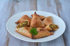 Indian Food Samosa Samoosa Royalty Free Stock Photos