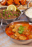 Indian Food Selection Royalty Free Stock Image