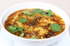 Indian Food Series - Lentil Soup (Dal) Royalty Free Stock Photo