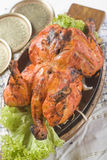Indian food, Tandoori Murghi Royalty Free Stock Photos