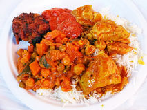 Indian Food Variety Royalty Free Stock Photography
