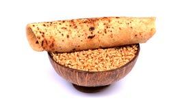 Indian food'wheat chapati' Stock Image