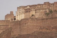 Indian Fort at Jodhpur Royalty Free Stock Photography