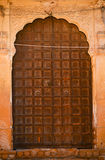 Indian fort window jharokha door Stock Photography