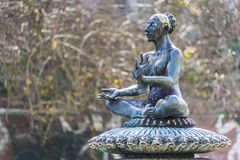 Indian fountain Berlin Stock Photo