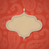 Indian frame. Royalty Free Stock Image