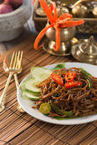 Indian fried noodle Royalty Free Stock Images