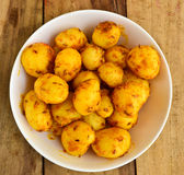 Indian Fried Potato Royalty Free Stock Images
