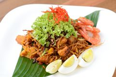 Indian friend noodle ( Mee Goreng ) Stock Images