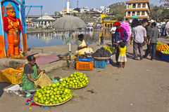 Indian fruit market Royalty Free Stock Photography