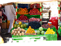 Indian Fruit Stall. A fruit stall in an Indian Market Royalty Free Stock Image