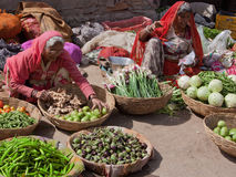 Indian Fruit and Vegetables for Sale Royalty Free Stock Image