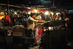 Indian fruit vendor 3 Stock Photo