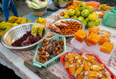 Indian fruits stall Royalty Free Stock Photos