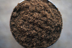 Indian Garam Masala Spice in a round container Stock Photography