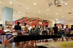 Indian garment shop in New Market area, Kolkata Royalty Free Stock Photography