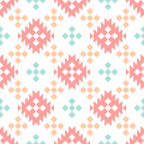 Indian geometric pattern. Royalty Free Stock Images
