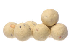 Indian Ghee Balls Isolated stock photo