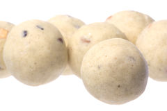 Indian Ghee Balls Isolated royalty free stock image