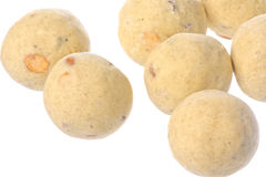 Indian Ghee Balls Isolated royalty free stock images
