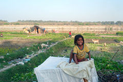 Indian girl Stock Photography