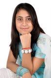 Indian girl in beautiful pose. Indian Punjabi girl in beautiful pose Royalty Free Stock Photo
