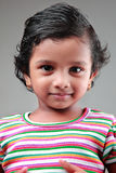 Indian girl child Royalty Free Stock Photos
