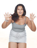Indian girl haveing fun Royalty Free Stock Image